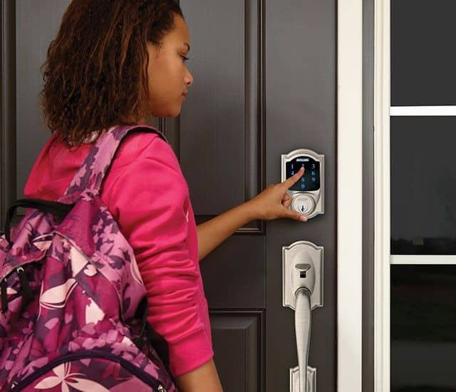 We can install keypad smart locks on all your exterior home doors.